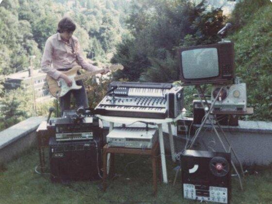 1982 im Garten