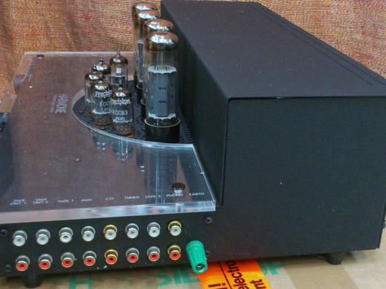 1991 zusammen mit den Vecteur Premiere LS eine richtig gute Kombi: Audio Innovations Harmony 500