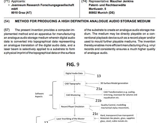 hd vinyl patent