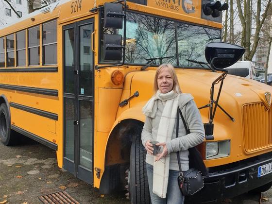 Mint Vinyl-Bus