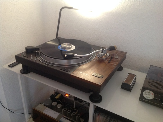 Technics SL-110 mit AS-212 und SPU GM Mono