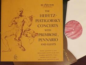 The Heifetz-Piatigorsky Concerts