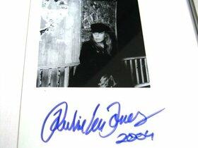 Rickie Lee Jones Autograph