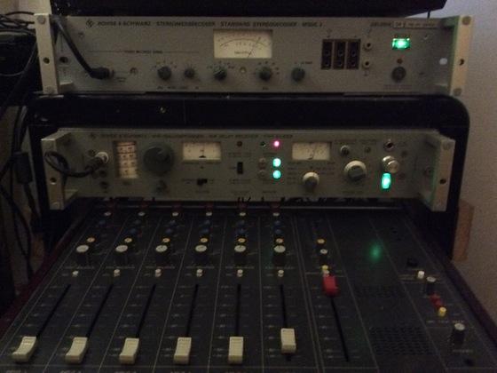 EU6201 mit MSDC2 von Rohde Schwarz.