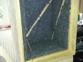 Isoblue Baumwolldämmung in Altec614 Nachbau