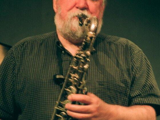 Evan Parker live in der Aachener Klangbrücke, 12.12.2008