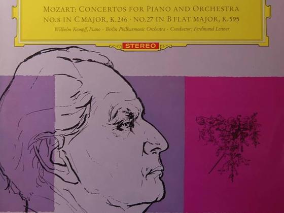Wilhelm Kempff Ferdinand Leitner BP: Mozart Klavierkonzerte