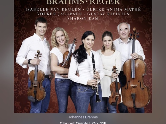 Brahms-Reger-Mozart - Klarinettenquintette