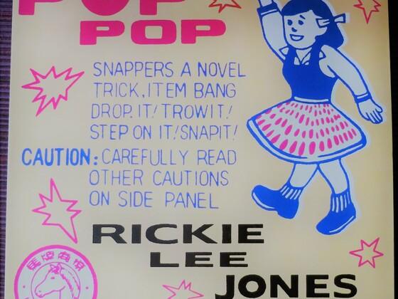 "Rickie Lee Jones: ""pop pop"""