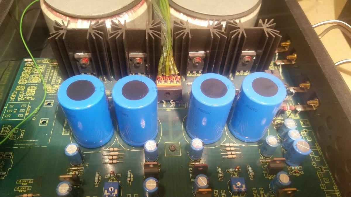 Atoll AM 100 Transistoren