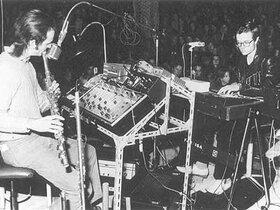 Kraftwerk-Konzert in den frühen 70ern