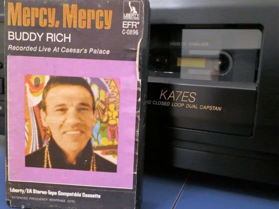 "Buddy Rich: ""mercy, mercy"""
