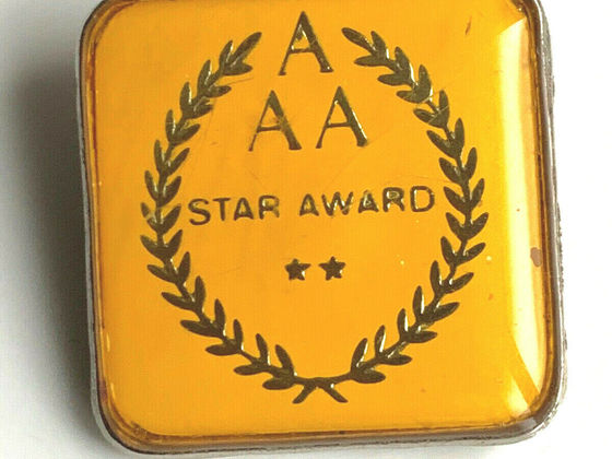 Der AAA Star Award ... Gab es da schon mal was?