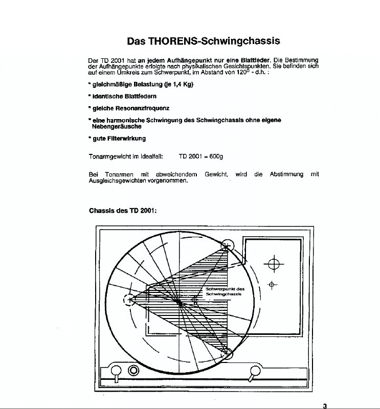 TD 2001 Schwingchassis