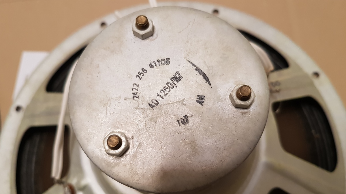 Phillips AD 1250 / M7 Alnico Breitbänder 8Ohm