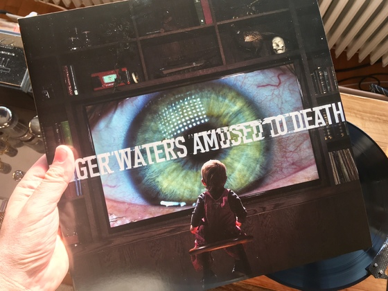 roger waters, amused to death.
