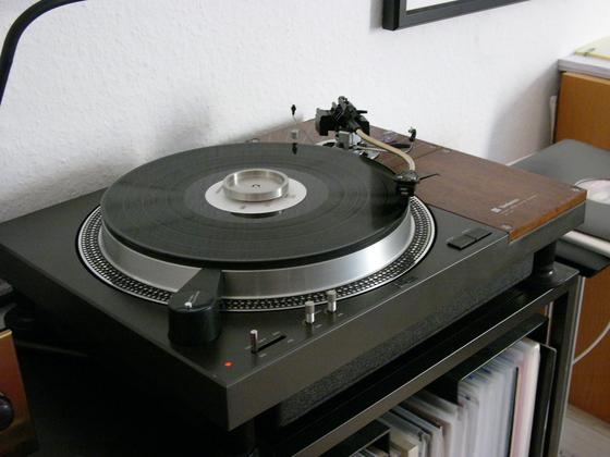 Technics SL-110 mit SME Serie III und SPU Mono System