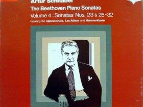 Cover Beethoven-Sonaten mit Artur Schnabel