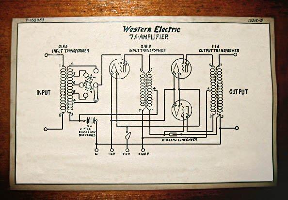 "Western Electric ""Line Stage"" um 1922"