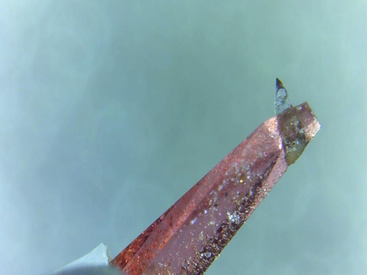 Dynavector Karar 23R - Nahaufnahme der Nadel