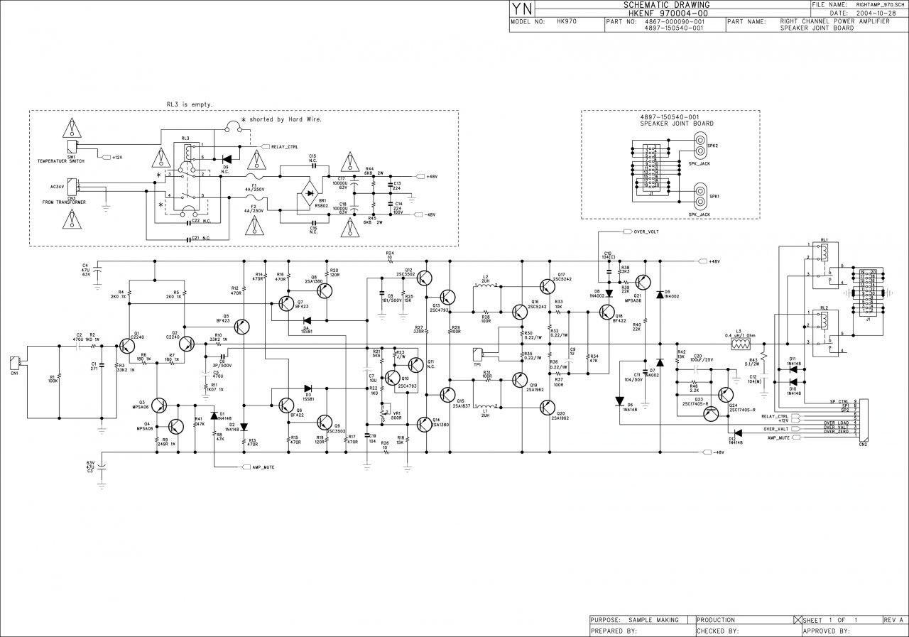 Ruhestrom Transistorverstärker erhöhen - Phono - Restaurierung und ...