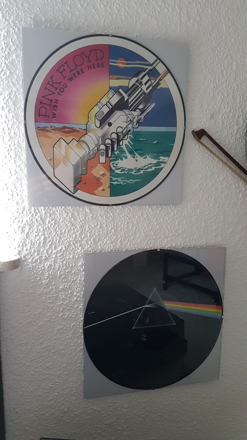 Sehr seltene Pink Floyd Picture Discs