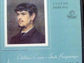 Debussy-LP von Walter Gieseking auf Angel