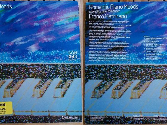 Franco Matricano - Romantic Piano Moods