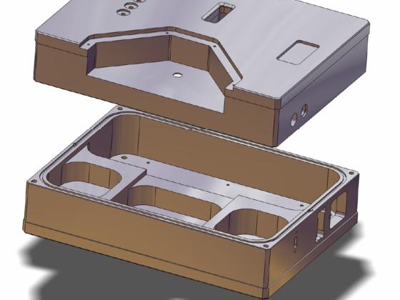 3-D CAD-Darstellung des DMS-5001