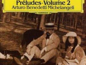 Cover Debussy Préludes vol. 2 mit Arturo Benedetti Michelangeli