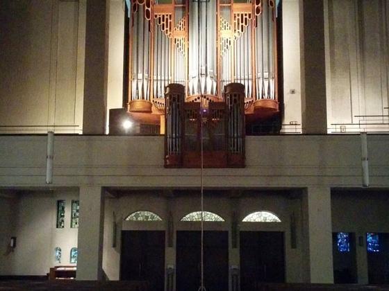 Orgelaufnahme