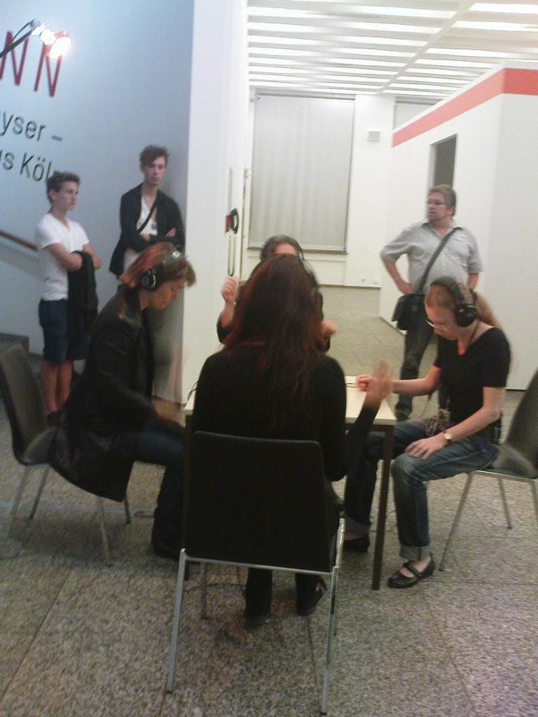 Uraufführung von Andreas Wagners Fraktale X am 10.09.2011