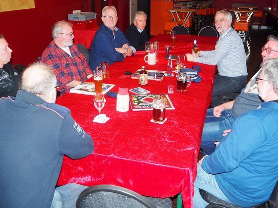 Stammtisch Ruhrgebiet West Dezember 2017 mit Gin Tasting
