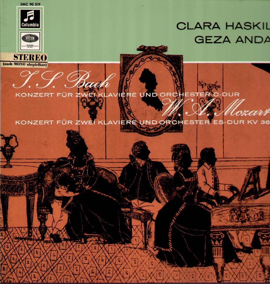Haskil, Anda: Konzerte für 2 Klavier, Bach Mozart