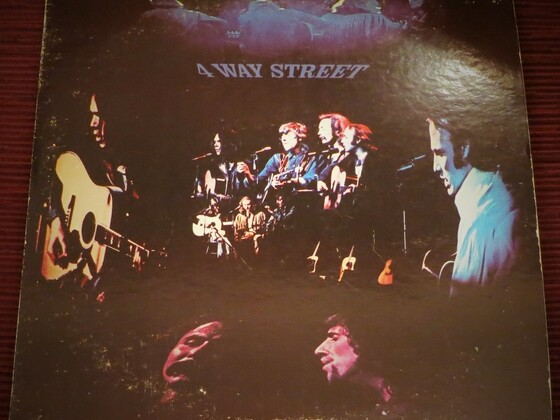 "Crosby, Stills, Nash & Young: ""4 way street"""