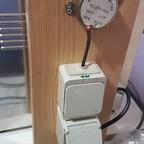 Feuchtraum Schalter und Steckdose mit Langsamläufer 5 u/min