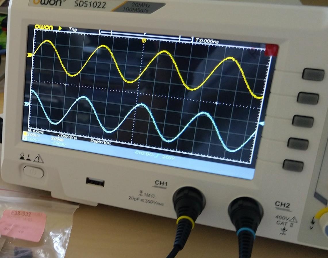 Messung Ausgang Motor-NT