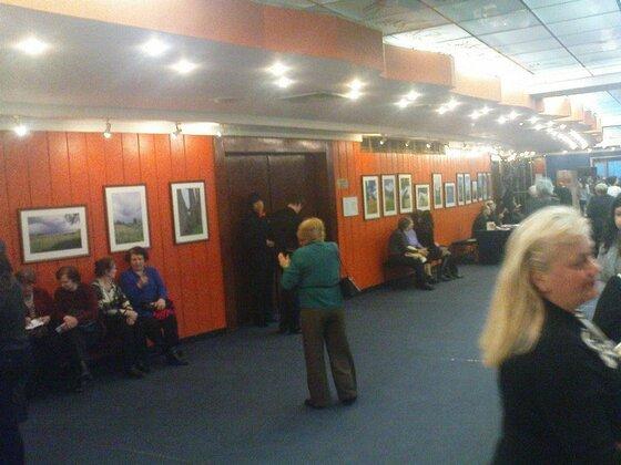 Foyer des Helikon-Theaters in Moskau