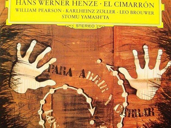 Hans Werner Henze - El Cimarron