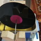 V2A Stab 6mm mit Schrumpfschlauch um das Mittelloch der LP zu schützen